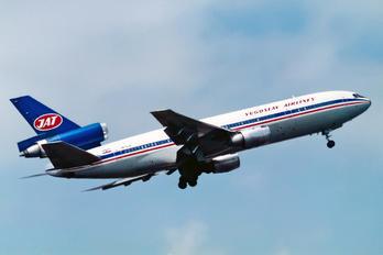 OO-SLA - JAT - Yugoslav Airlines McDonnell Douglas DC-10-30