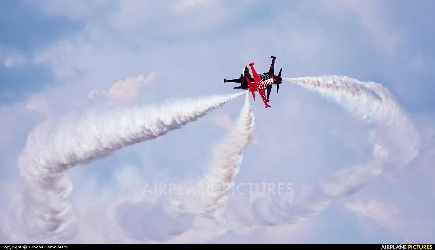 Turkey - Air Force : Turkish Stars 70-3023 aircraft at Bucharest - Aurel Vlaicu Intl