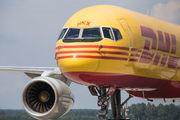 G-DHKX - DHL Cargo Boeing 757-200F aircraft