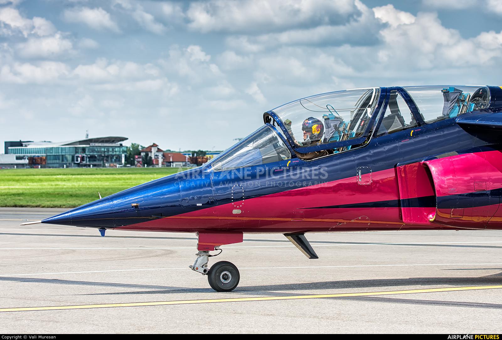 Red Bull OE-FRB aircraft at Bucharest - Aurel Vlaicu Intl