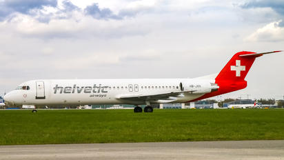 HB-JVH - Helvetic Airways Fokker 100