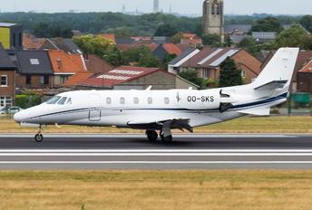 OO-SKS - Sky Service Aviation Cessna 551 Citation II SP