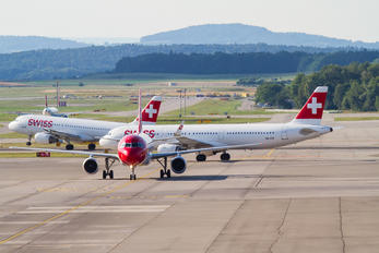 - - Swiss - Airport Overview - Runway, Taxiway