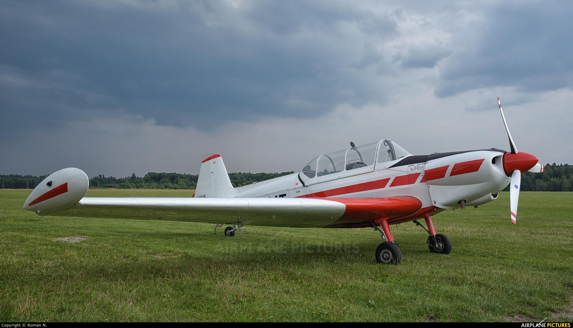 Aeroclub ROW SP-EMT aircraft at Rybnik - Gotartowice