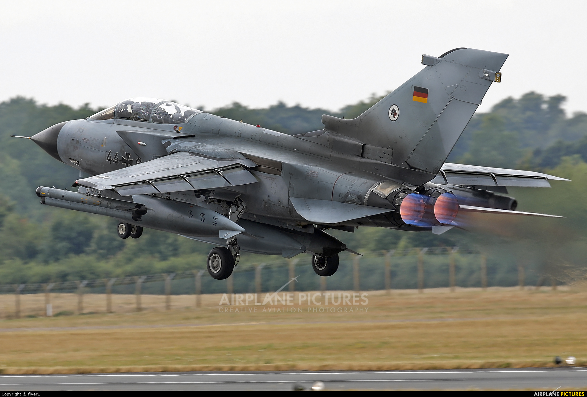 Germany - Air Force 44+65 aircraft at Fairford