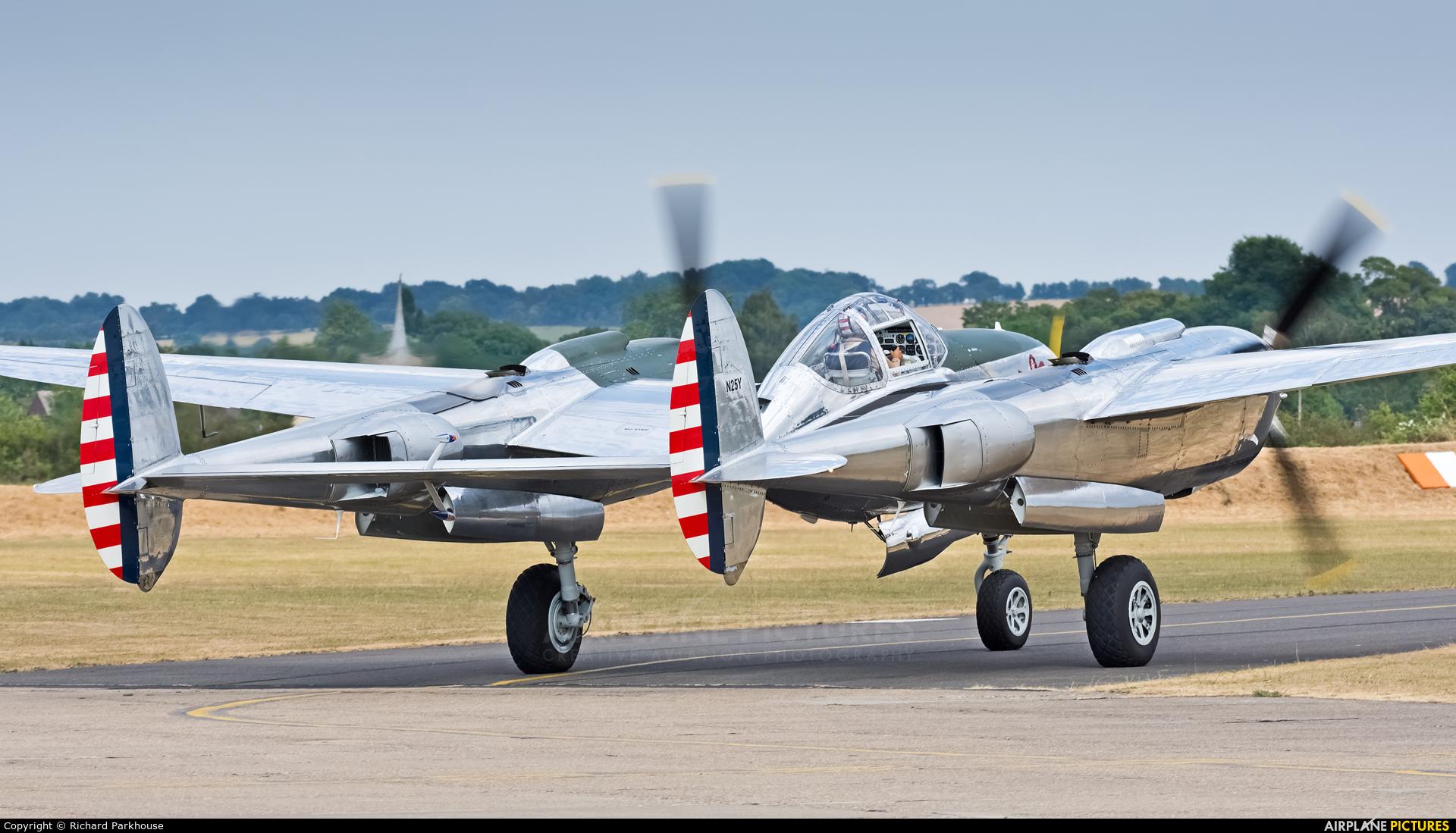 The Flying Bulls N25Y aircraft at Duxford