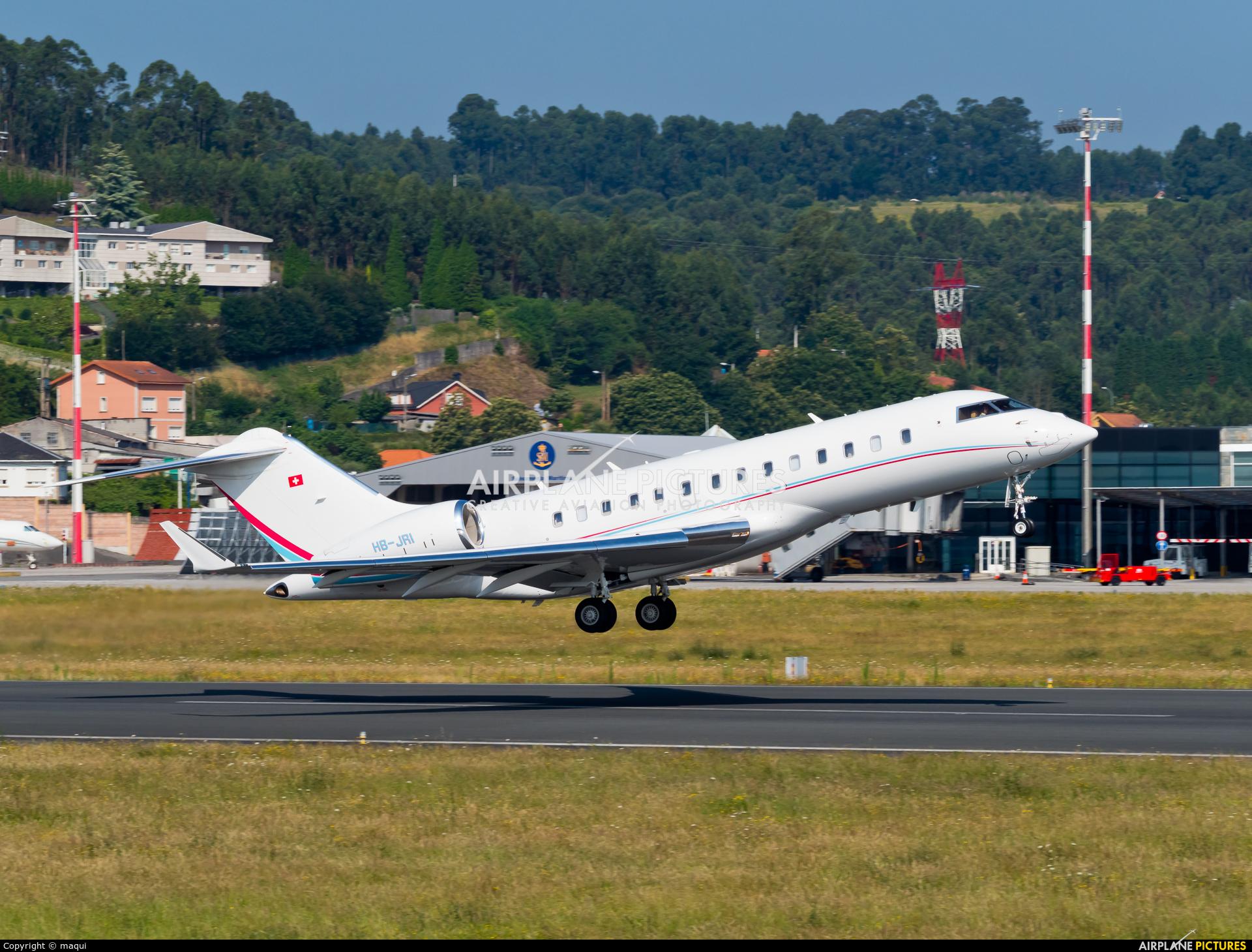 Execujet Europa AS HB-JRI aircraft at La Coruña