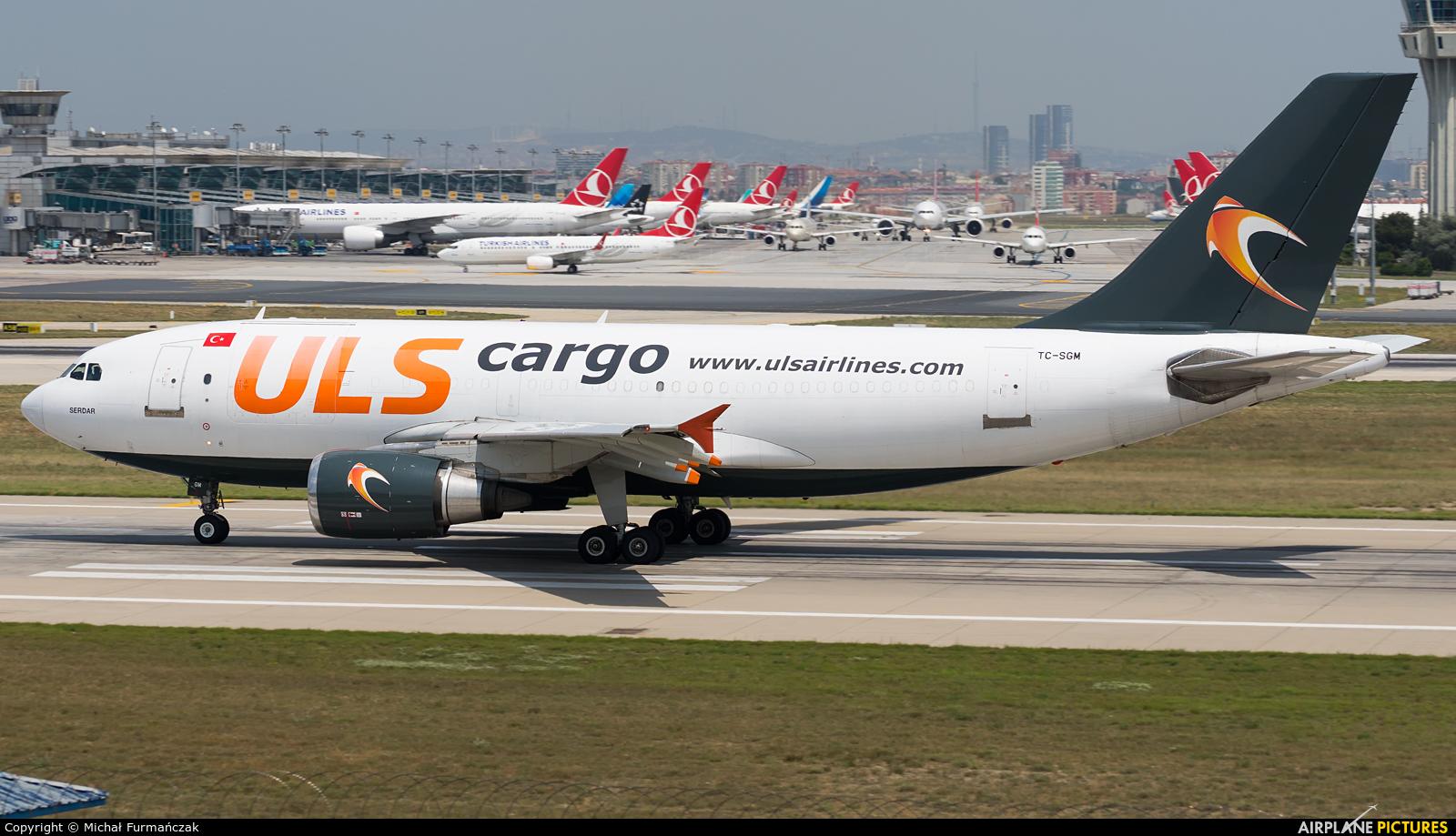 ULS Cargo TC-SGM aircraft at Istanbul - Ataturk