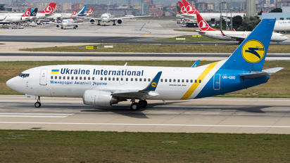 UR-GBD - Ukraine International Airlines Boeing 737-300