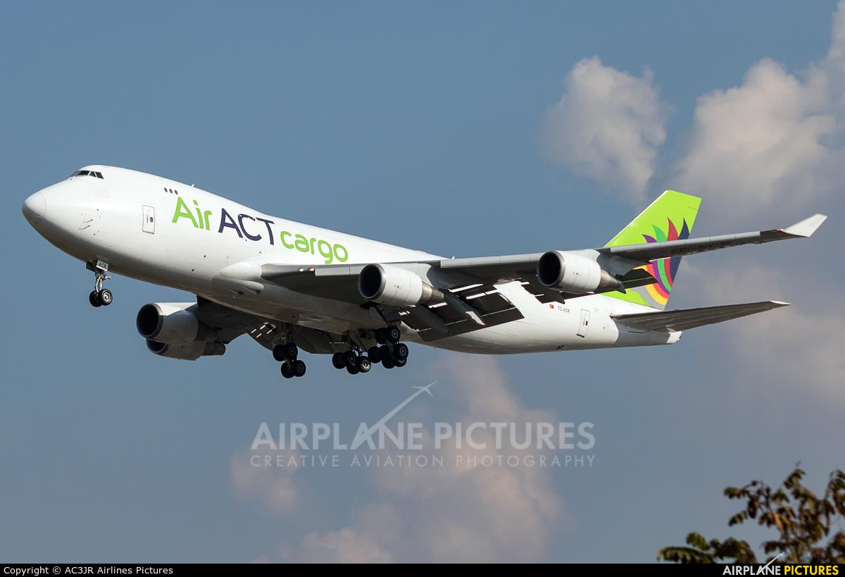 ACT Cargo TC-ACR aircraft at São Paulo - Guarulhos