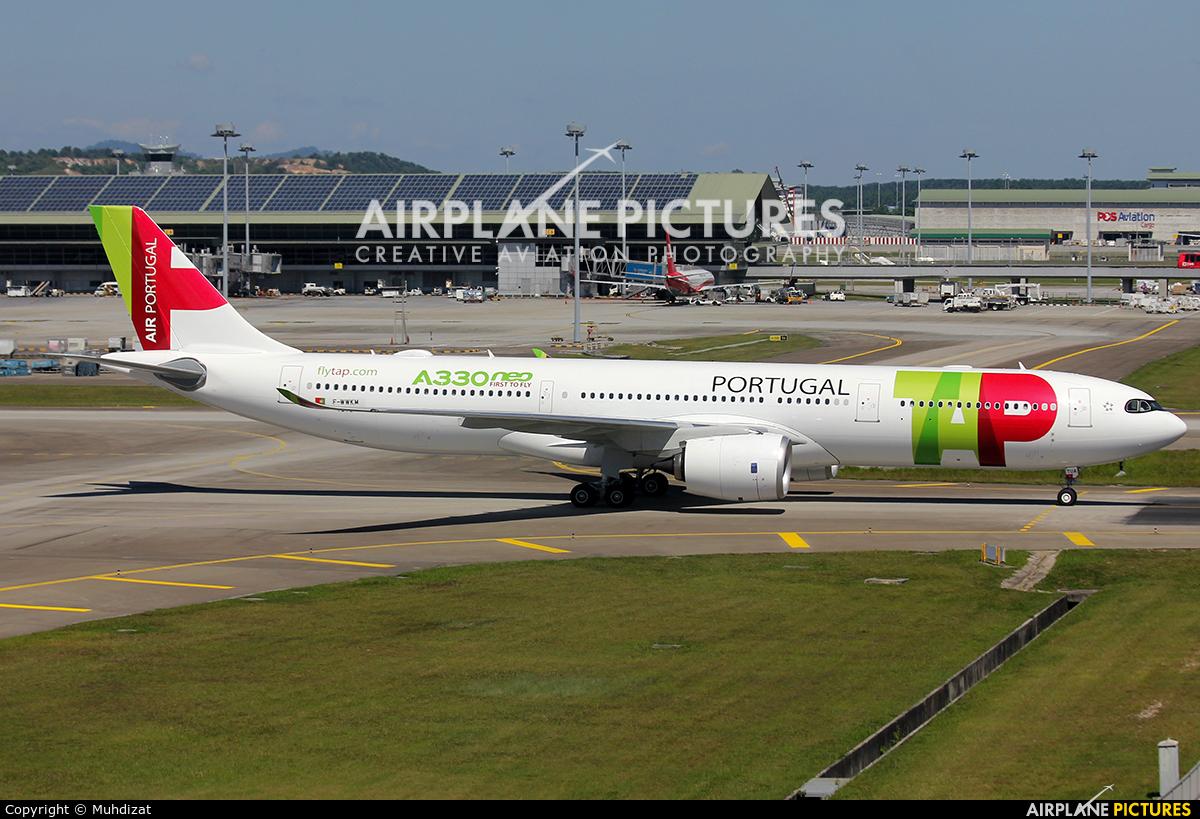 TAP Portugal F-WWKM aircraft at Kuala Lumpur Intl