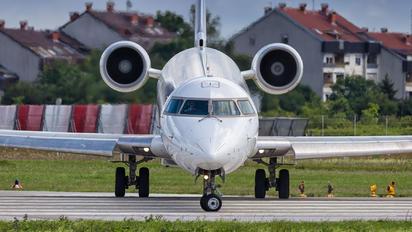 EC-LPN - Croatia Airlines Canadair CL-600 CRJ-1000