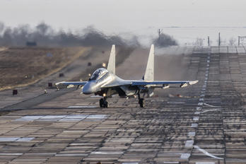 RF-93673 - Russia - Air Force Sukhoi Su-30 M2