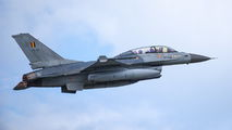FB-23 - Belgium - Air Force General Dynamics F-16BM Fighting Falcon aircraft