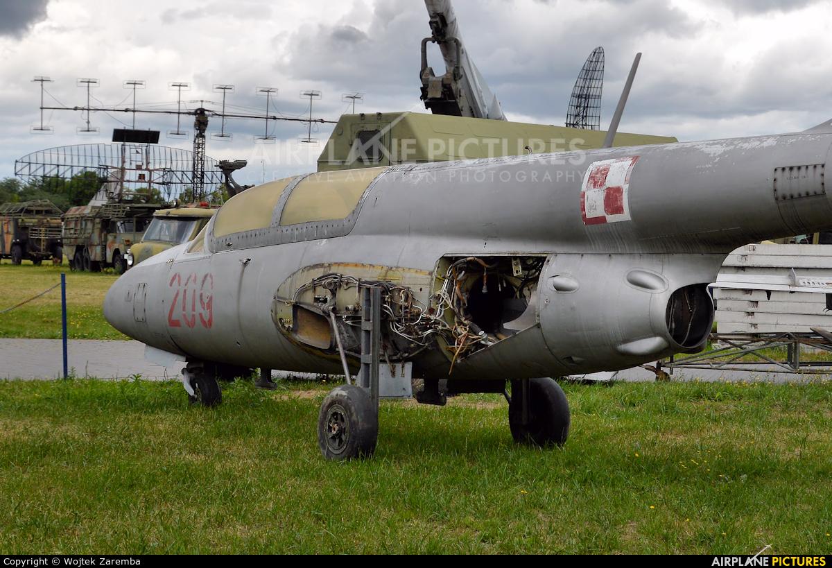 Poland - Air Force 209 aircraft at Dęblin - Museum of Polish Air Force