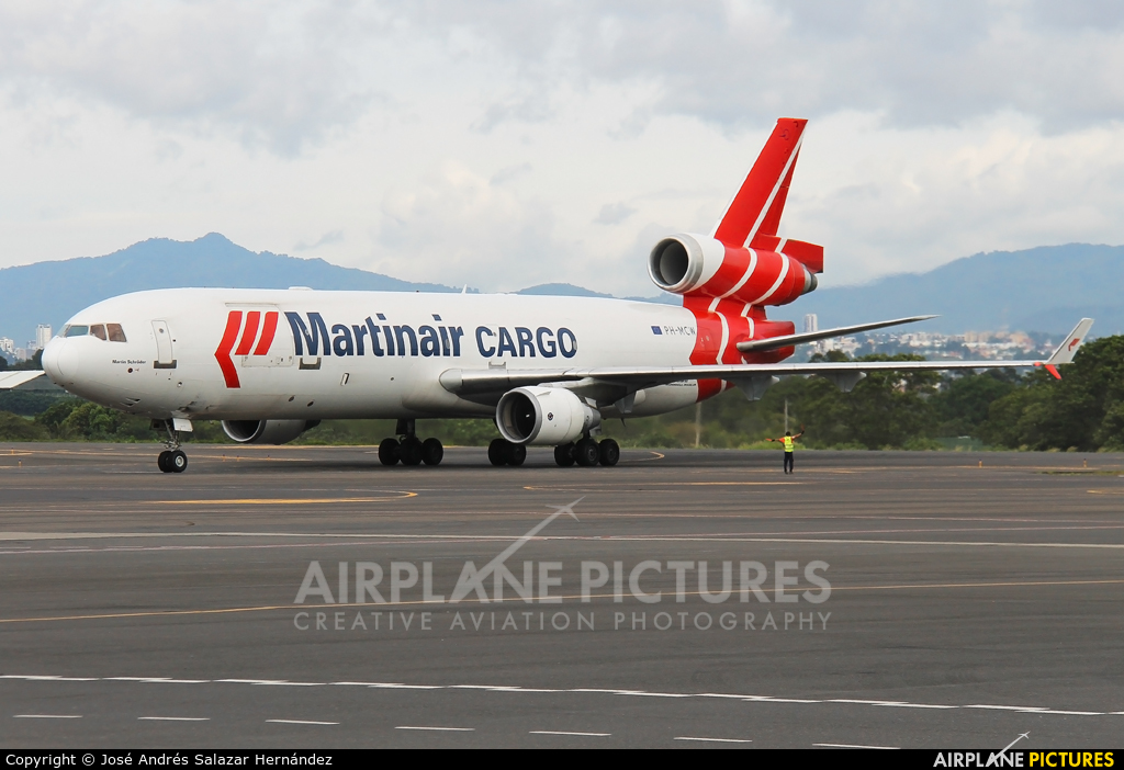 Martinair Cargo PH-MCW aircraft at San Jose - Juan Santamaría Intl
