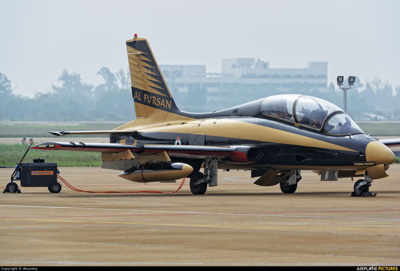 "United Arab Emirates - Air Force ""Al Fursan"" 438 aircraft at Zhūhǎi-Jīnwān"