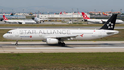 TC-JRA - Turkish Airlines Airbus A321