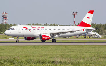 OE-LXA - Austrian Airlines/Arrows/Tyrolean Airbus A320