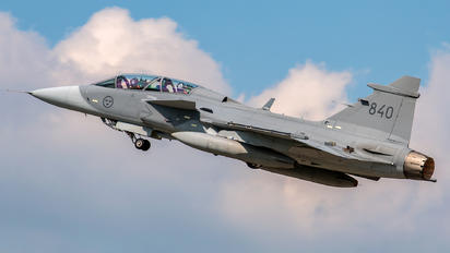 840 - Sweden - Air Force SAAB JAS 39D Gripen