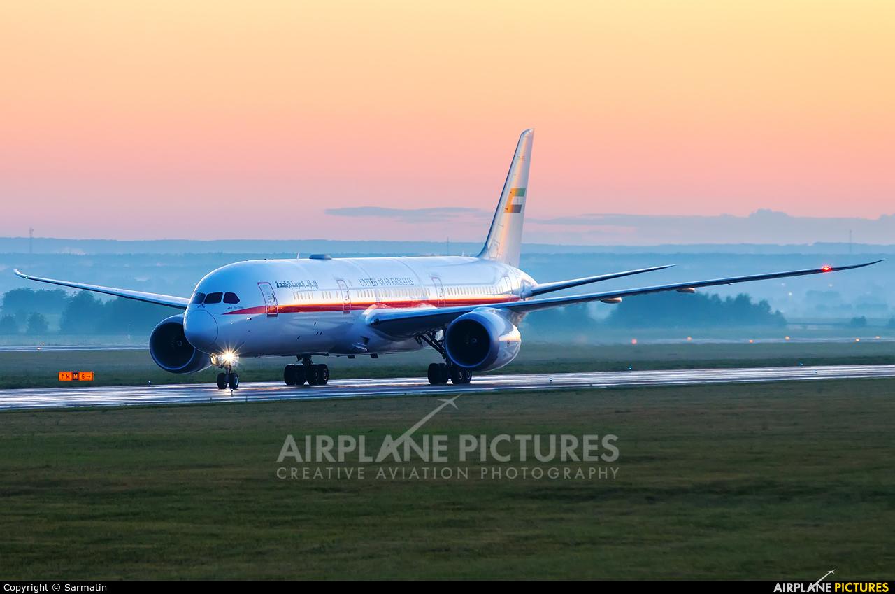 Abu Dhabi Amiri Flight A6-PFE aircraft at Kazan
