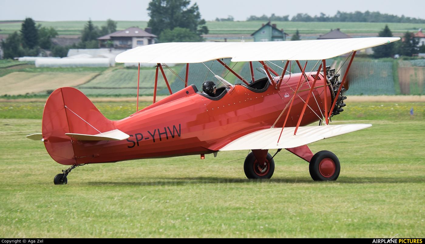 Private SP-YHW aircraft at Kraków - Pobiednik Wielki
