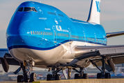 PH-BFY - KLM Boeing 747-400 aircraft
