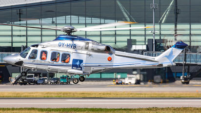 OY-HVB - Bell Air Helicopters Agusta Westland AW139