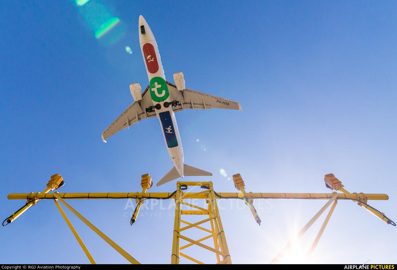 Transavia PH-HXB aircraft at Amsterdam - Schiphol
