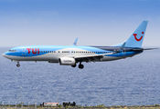 OO-TUP - TUI Airlines Belgium Boeing 737-800 aircraft