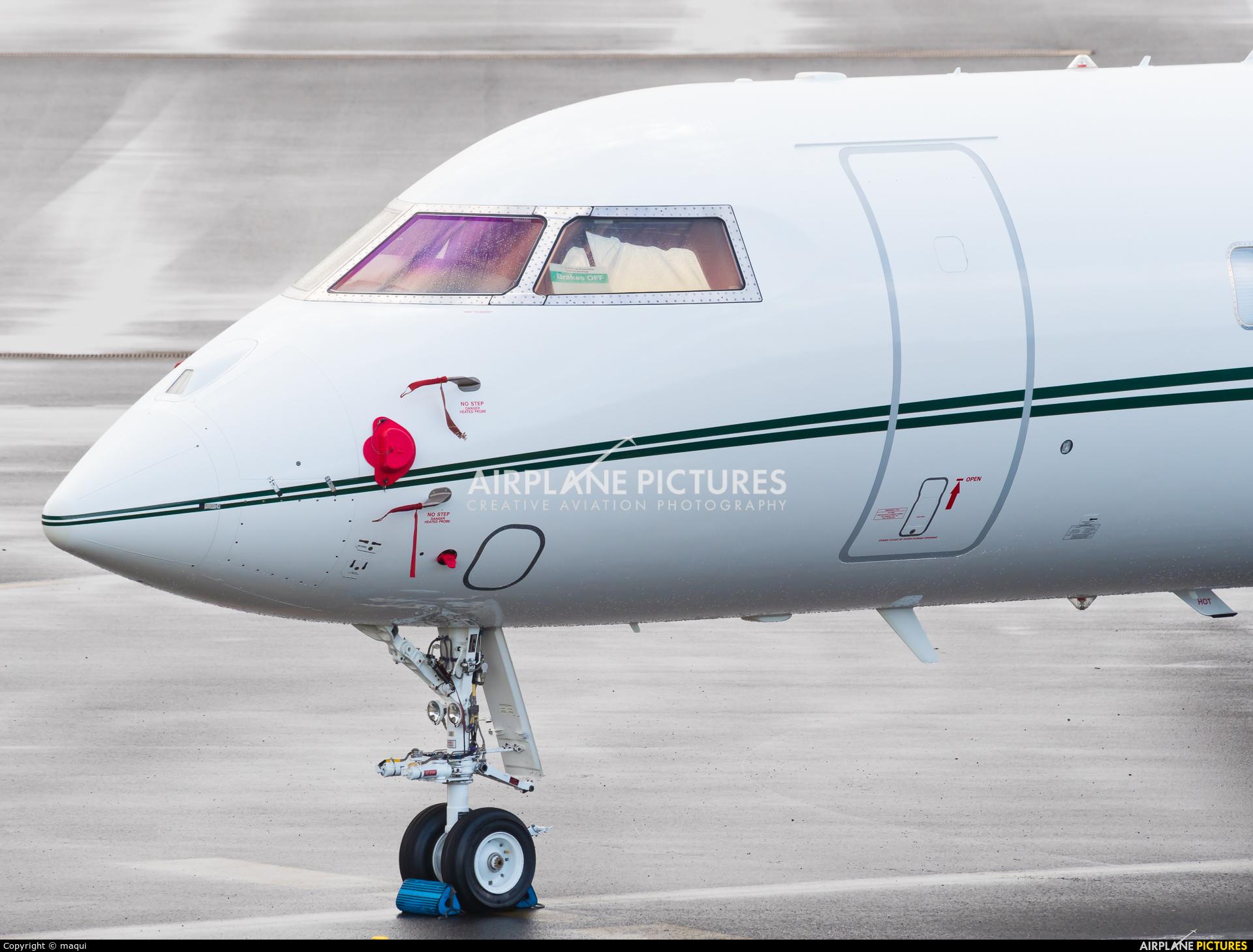 Avcon Jet VP-CBF aircraft at Santiago de Compostela