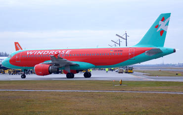 UR-WRM - Windrose Air Airbus A320