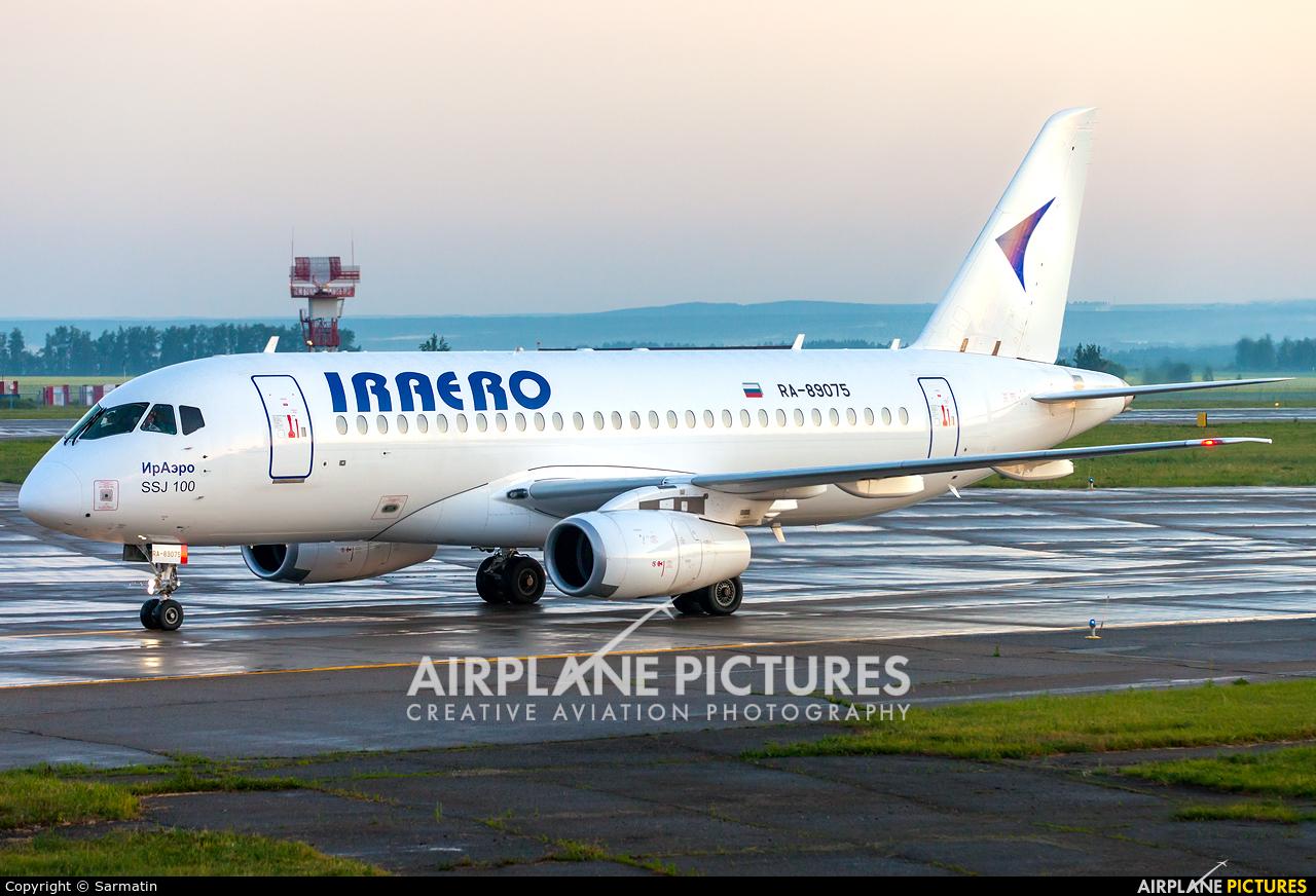 Iraero RA-89075 aircraft at Kazan