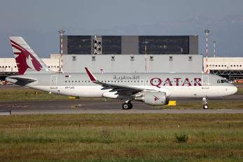 A7-LAG - Qatar Airways Airbus A320