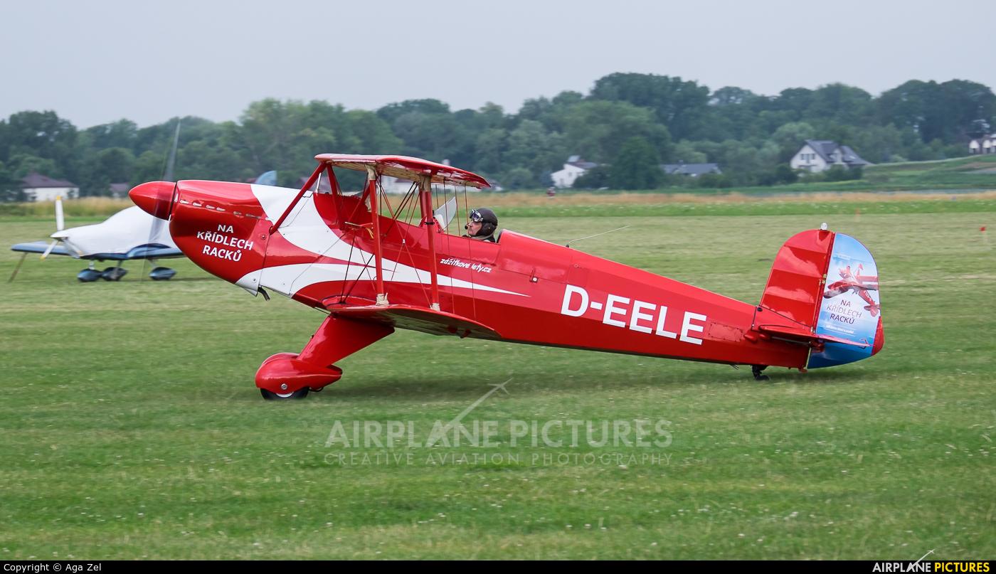 Private D-EELE aircraft at Kraków - Pobiednik Wielki