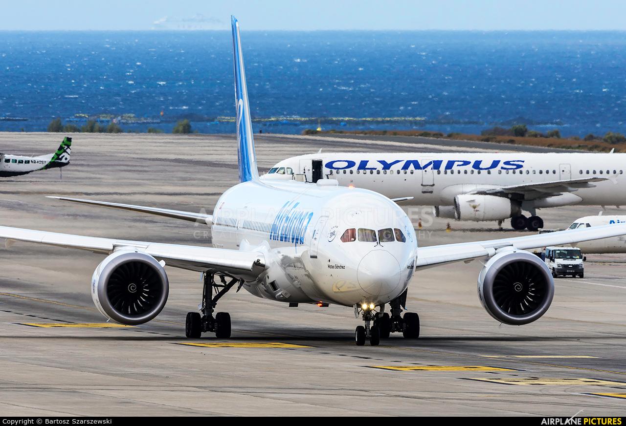 Air Europa EC-MTI aircraft at Aeropuerto de Gran Canaria