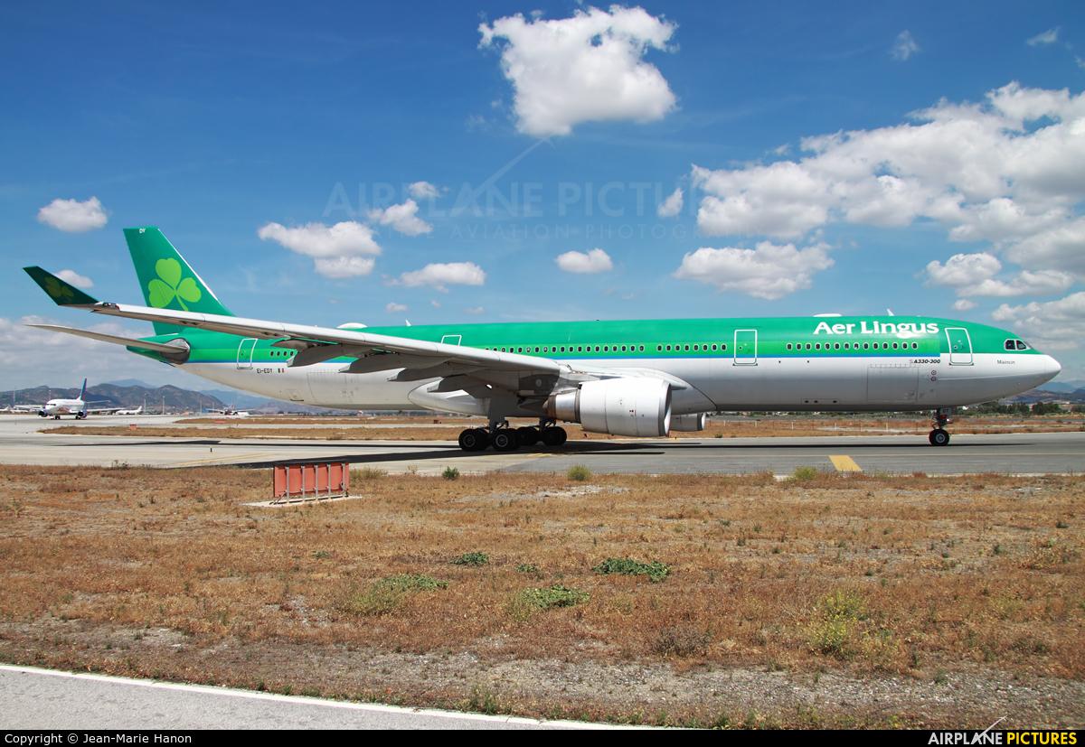 Aer Lingus EI-EDY aircraft at Málaga