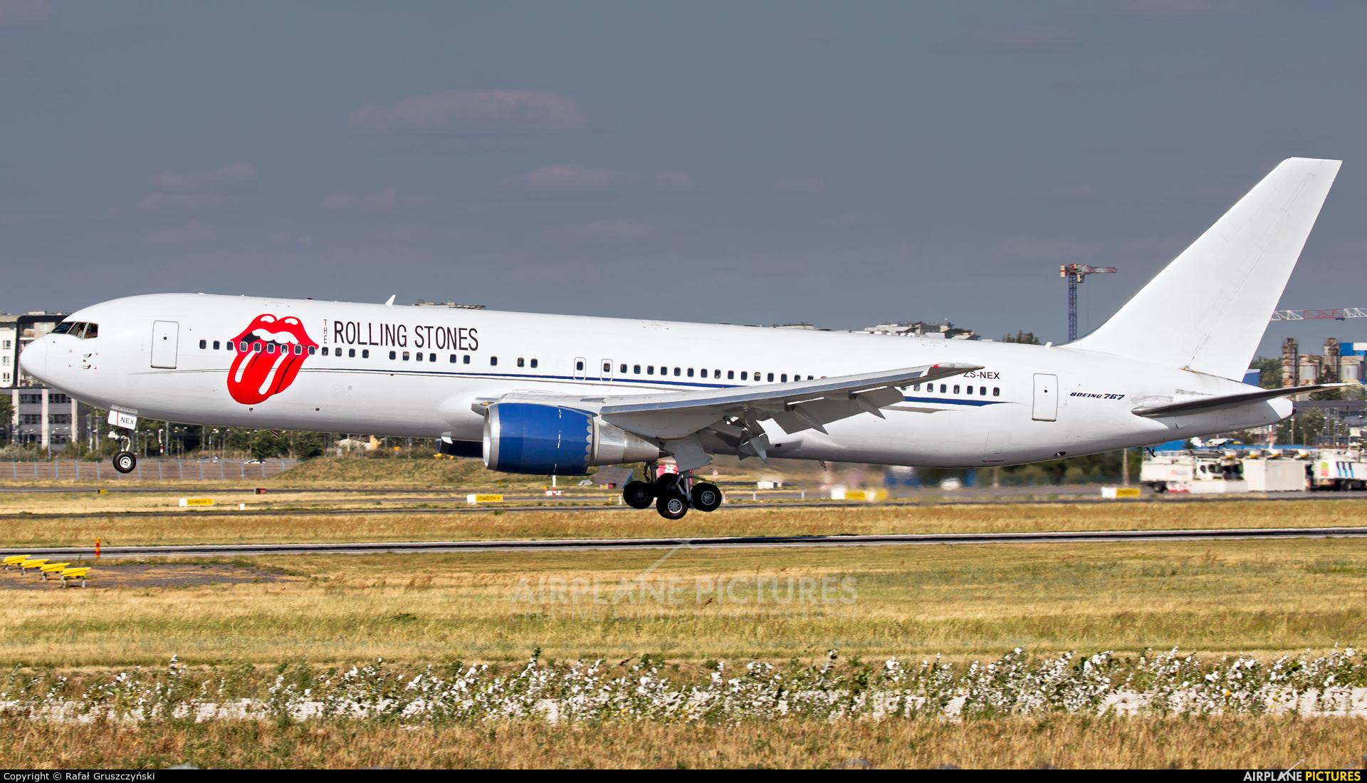 Aeronexus ZS-NEX aircraft at Warsaw - Frederic Chopin