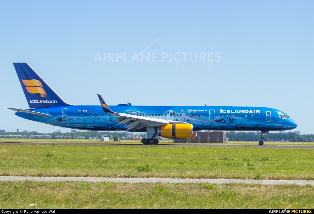 Icelandair TF-FIR aircraft at Amsterdam - Schiphol