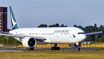 B-KPR - Cathay Pacific Boeing 777-300ER aircraft