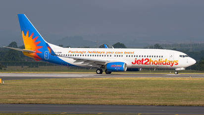 G-JZHN - Jet2 Boeing 737-800