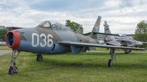 FU-36 - Belgium - Air Force Republic F-84F Thunderstreak aircraft
