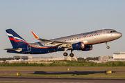 VP-BAC - Aeroflot Airbus A320 aircraft