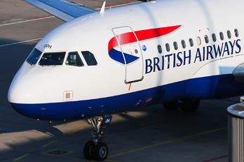 G-EUOH - British Airways Airbus A319