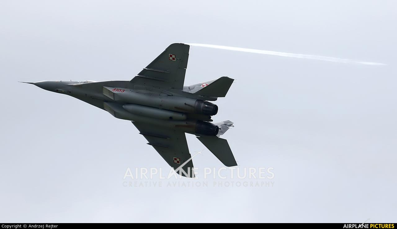 Poland - Air Force 4103 aircraft at Siemirowice