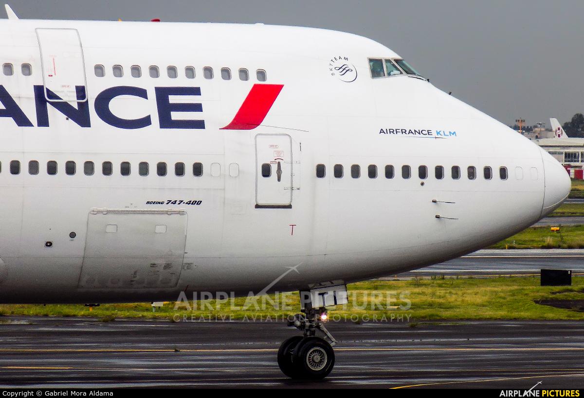 Air France F-GITI aircraft at Mexico City - Licenciado Benito Juarez Intl