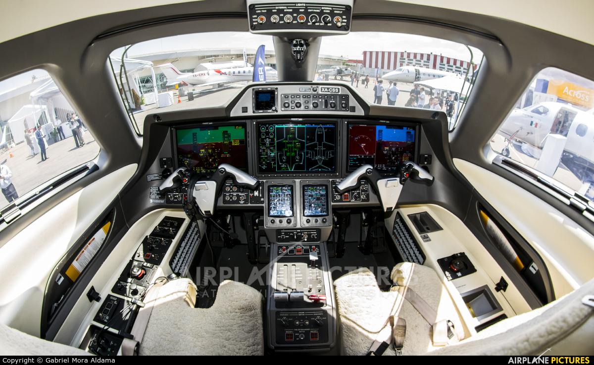 Embraer XA-CSS aircraft at Toluca Intl