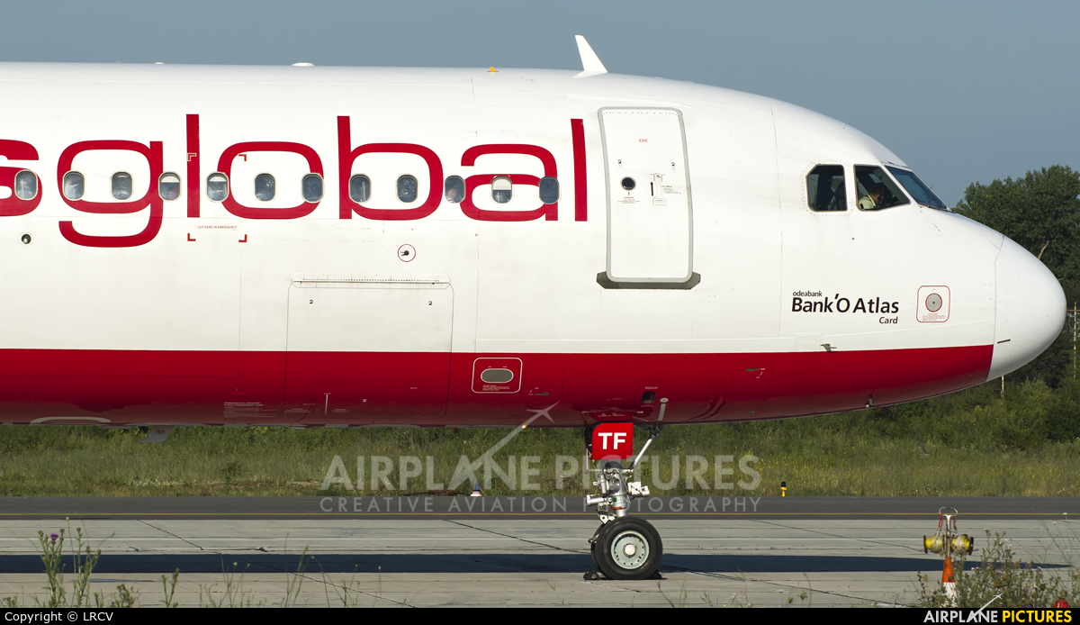 Atlasglobal TC-ATF aircraft at Craiova
