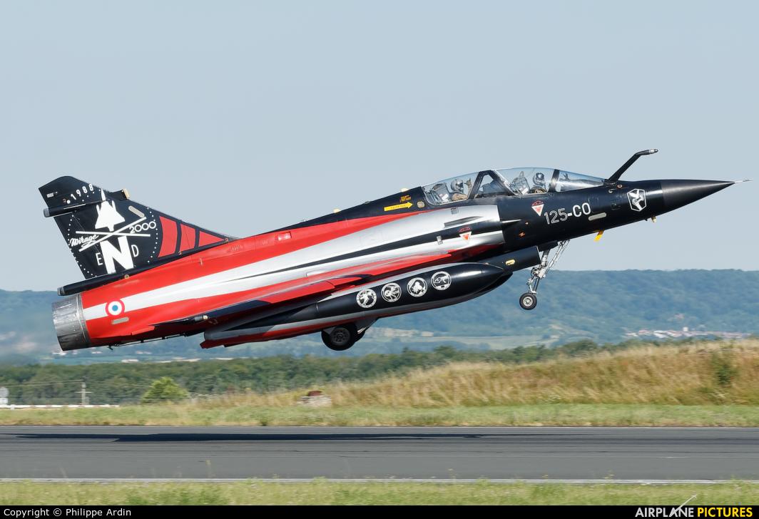 France - Air Force 125-CO aircraft at Nancy - Ochey AB
