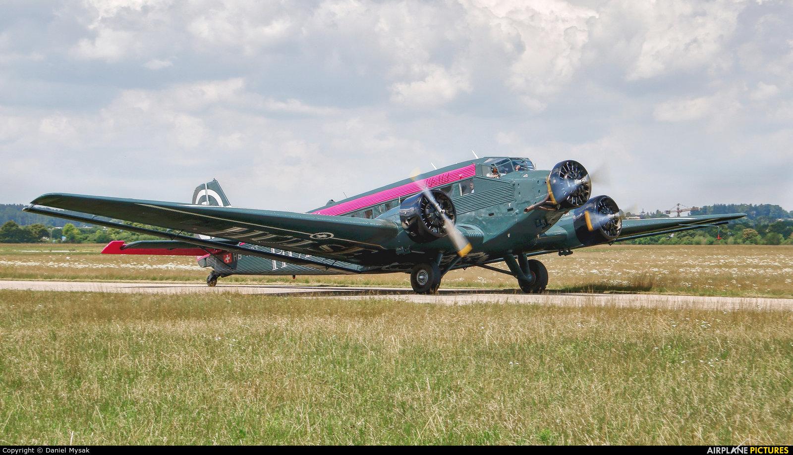 Ju-Air HB-HOT aircraft at Wels